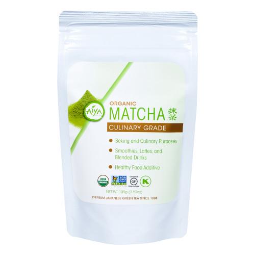 Organic Culinary Grade Matcha tea, 100 gram, single bag