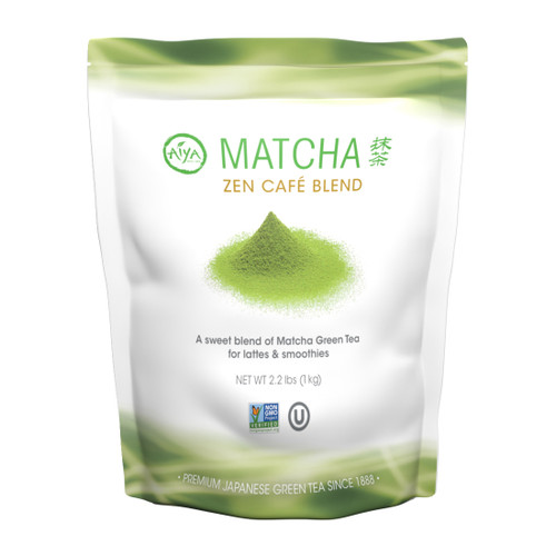 This is an image of Matcha Zen Café Blend (1kg bag).