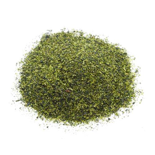 Japanese Konacha, tea leaves in a mound, sold in 500 gram bag