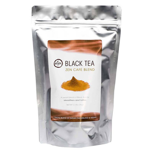 Black Tea Zen Cafe blend, sweetened black tea, sold in 1 kilogram size bag