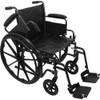 K2 Wheelchair 16 X16   Removbl Desk Arms Swing Away Footrests
