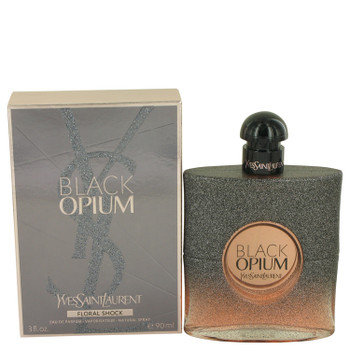 Black Opium Floral Shock by Yves Saint Laurent Eau De Parfum Spray 3 oz for Women