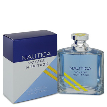 Nautica Voyage Heritage by Nautica Eau De Toilette Spray 3.4 oz for Men - MUFXP542777