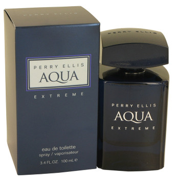 Perry Ellis Aqua Extreme by Perry Ellis Eau De Toilette Spray 3.4 oz for Men