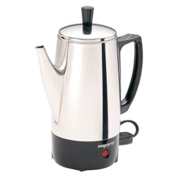 6 Cup Coffee Percolator SS