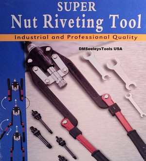 Folding Long Arm Rivet Nut puller hand Tool