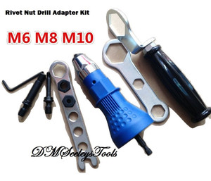 Rivet Nut Drill Adapter Metric.