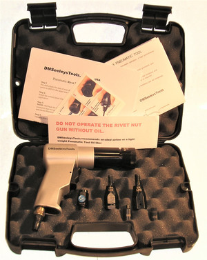 Metric Rivet Nut Rivnut Nutsert   Gun Kit M-8 & M-10.