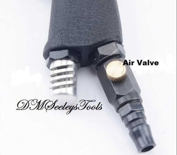 Riv rivet Nut Gun Pneumatic Air control connection.