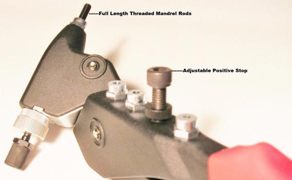 Alcoa Marson Swivel Head Rivet Nut Tool turns 360 Degrees
