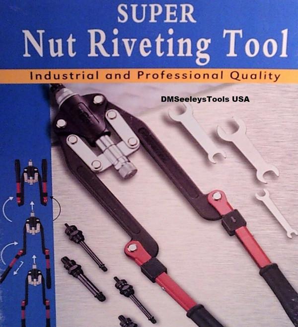 Folding Long Arm Rivet Nut puller hand Tool