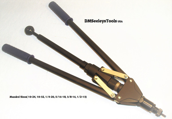 Professional Grade Quick Screw Rivet Nut Tool with Retract Puller