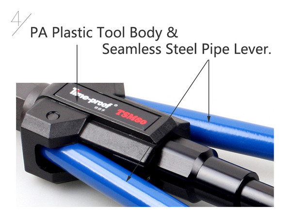 Rivet Nut Long Arm Push pull riv nut threaded insert Metric tool kit.