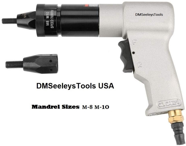Metric Rivet Nut Rivnut Nutsert gun  Kit M-8 & M-10.