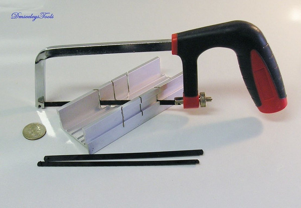 MITER BOX HACKSAW KIT SMALL HOBBY ALL PURPOSE with FREE Shipping