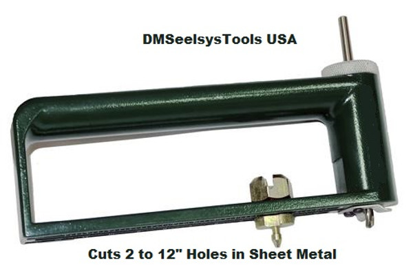 SHEET METAL CIRCLE HOLE CUTTER DRILL ADJUSTABLE NEW FREE SHIPPING  USA only
