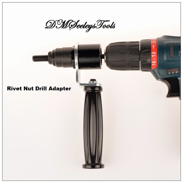 Rivet Nut Metric Drill adapter Tool.