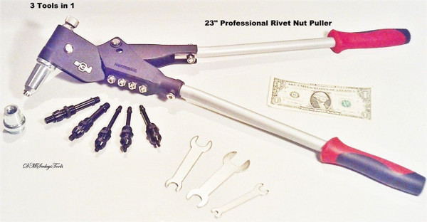 Large Metric Rivet nut tool Puller.