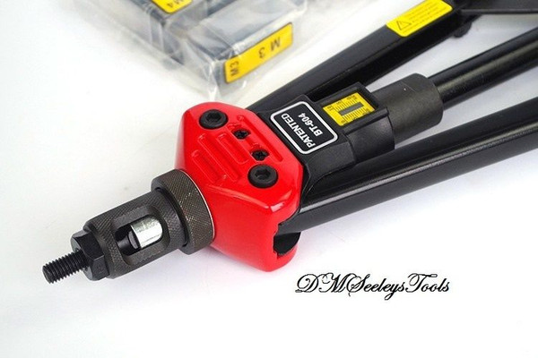 Auto Rotate Rivet Nut long arm puller tool.