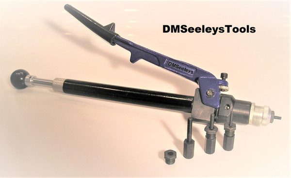 Rivet Nut Hand Threaded Insert Tool  with Single Hand Leverage with Push Pull thread Mechanism