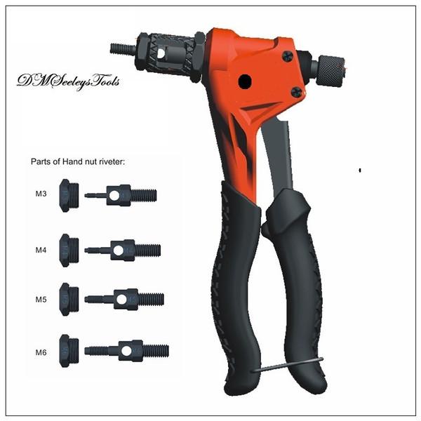 Metric Rivet Nut Hand tool