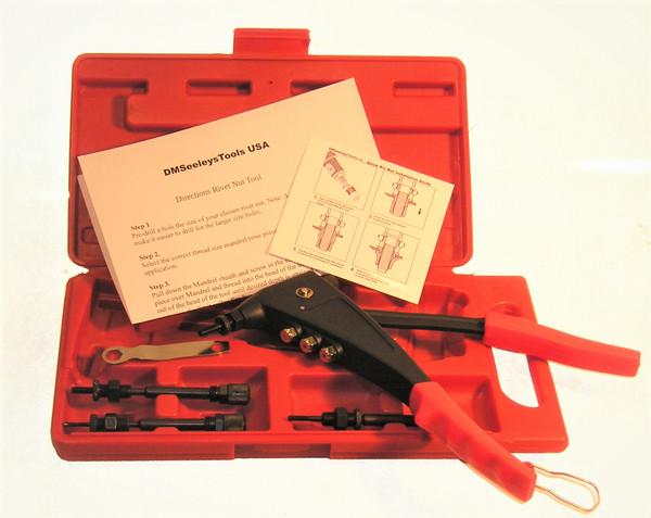 2 in 1 rivet nut tool kit.