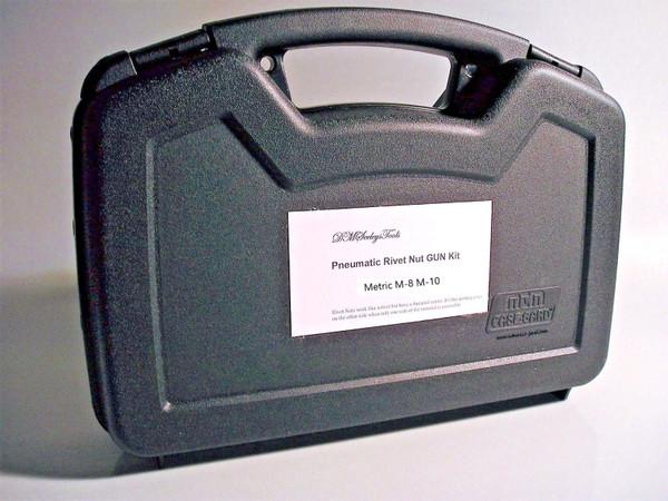 Metric Rivet Nut Gun Kit M-8 & M-10