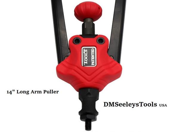 Long arm Rivet nut threaded insert puller.