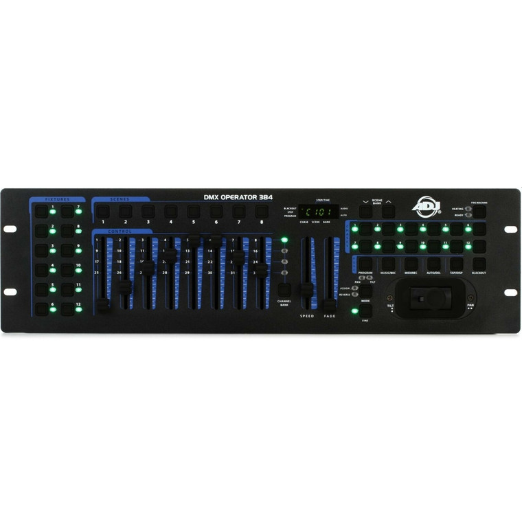 ADJ DMX OPERATOR 384 Rackmount MIDI Programmable Joystick Controller