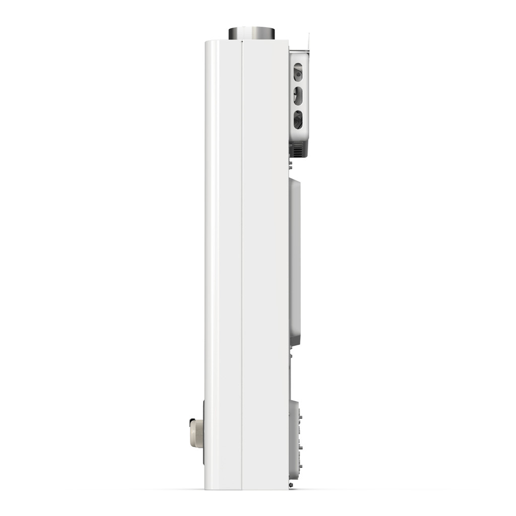 Eccotemp FVI12 Indoor 4.0 GPM Natural Gas Tankless Water Heater Left View