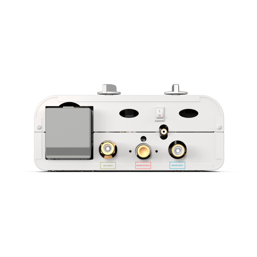 Eccotemp L5 Portable Outdoor Tankless Water Heater Bottom View