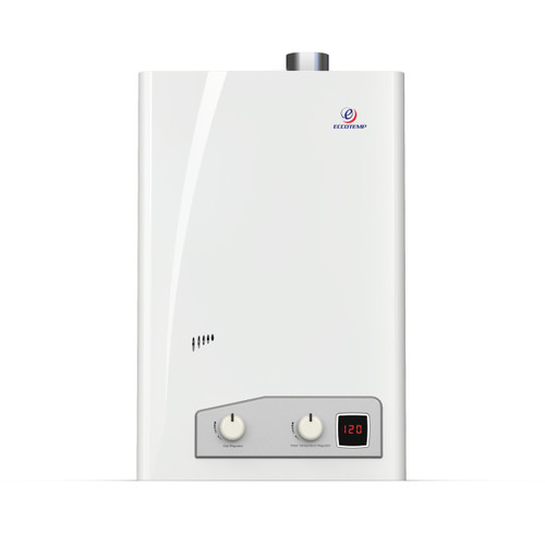 Eccotemp FVI12 Indoor 4.0 GPM Natural Gas Tankless Water Heater Front View