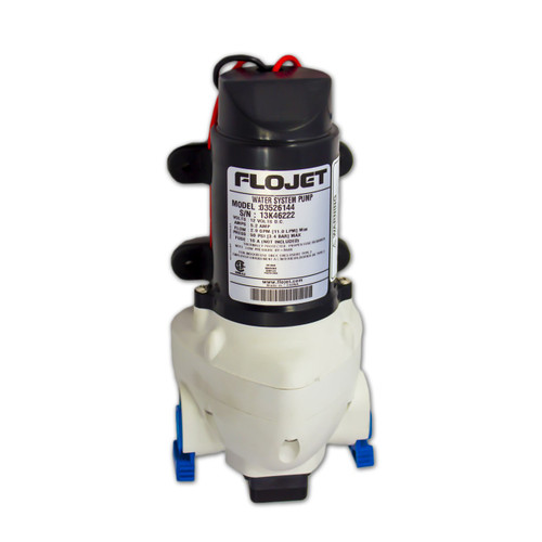 Flojet Pump Front View
