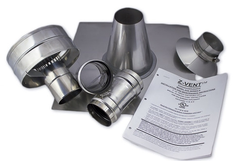 "Eccotemp 3"" Vertical Vent Kit"