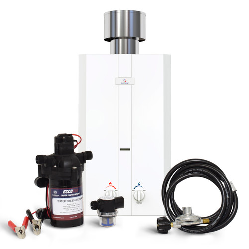 Eccotemp L10-PS Portable Outdoor Tankless Water Heater Front View