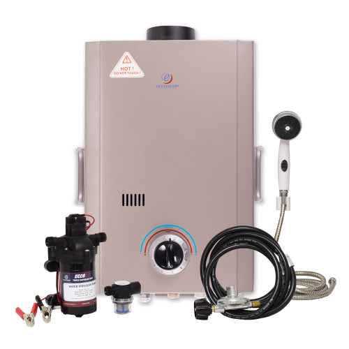 Eccotemp L7 Portable Outdoor Tankless Water Heater Pump & Strainer