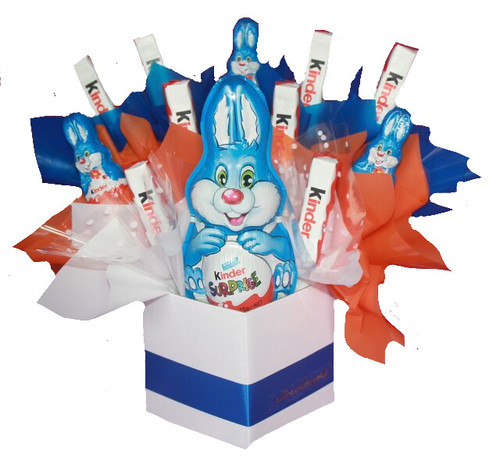 Kinder Bunny Bouquet (ONLY AVAILABLE IN PINK)