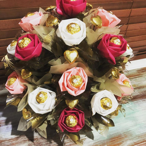 Pretty in Pink Floral Rose Bouquet