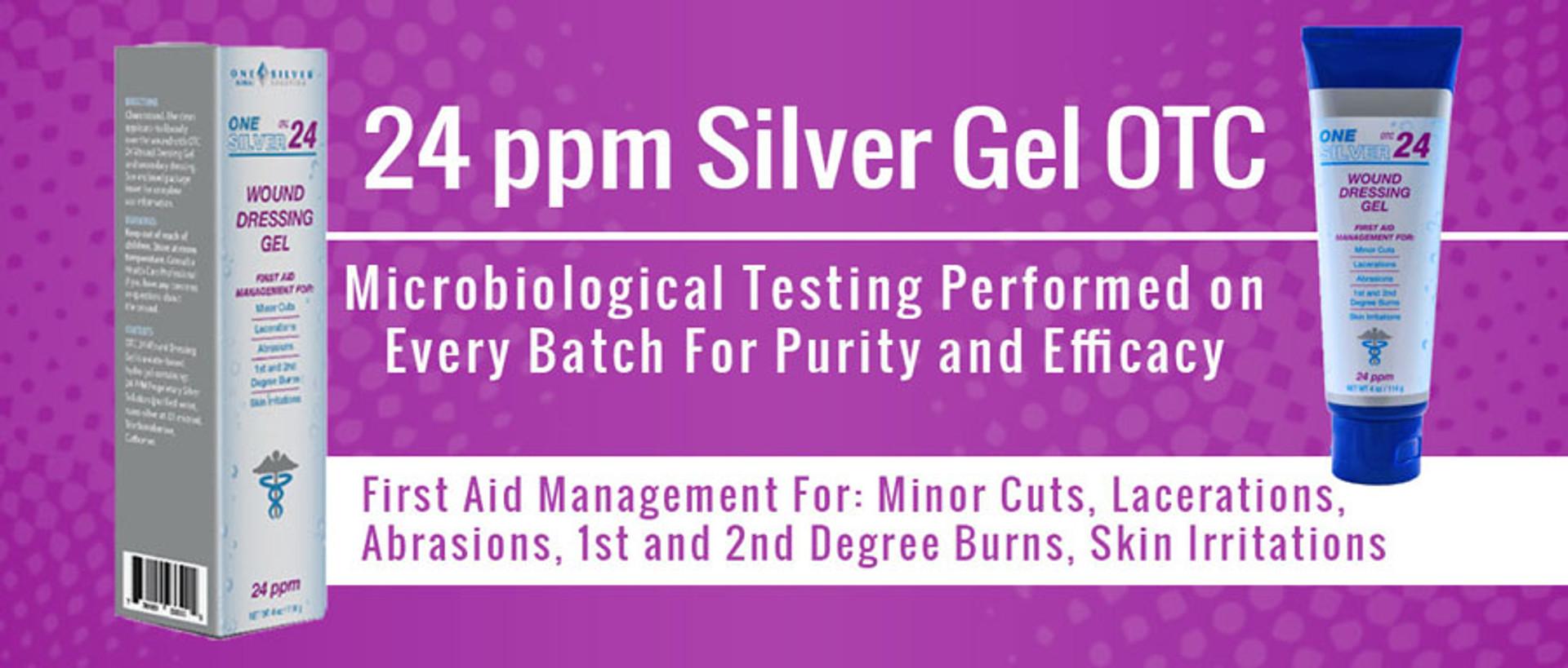 24 ppm silver gel otc