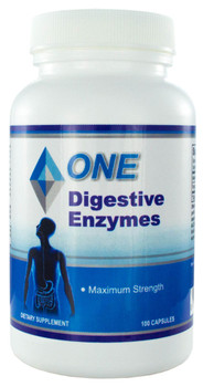 Digestive Enzymes Extra Strength 100 Capsules