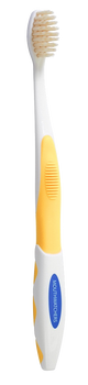 Mouth Watchers With Flossing Silver Infused Bristles (KIDS) - Yellow