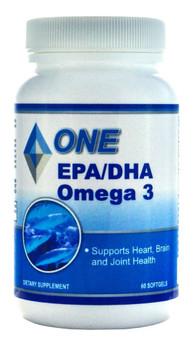 Omega 3 Fish Oil. EPA/DHA 60 Softgels.