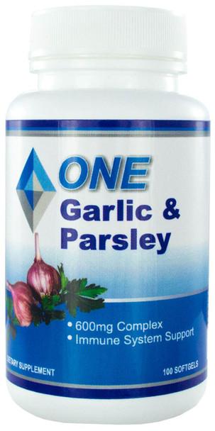 Garlic and Parsley Complex 100 Softgels 600mg