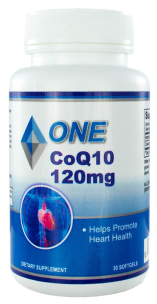 CoQ10 30 Softgels 120mg