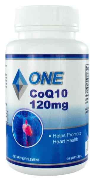 CoQ10 30 Softgels 120mg