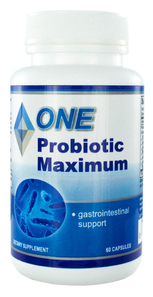 Probiotic Maximum 60 Capsules. 5.75 Billion Organisms