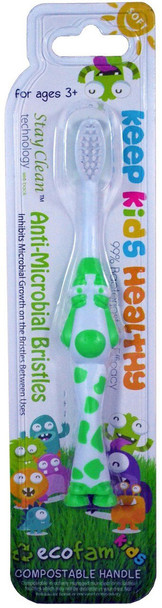 EcoFam Silver Infused Toothbrush for KIDS