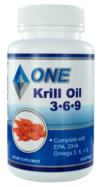 Krill Oil 500 mg. Complete with Omega 3, 6, 9, EPA, and DHA