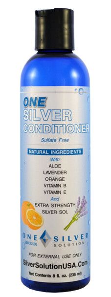 Silver Sol Conditioner With Coconut, Lavender, and Sweet Orange Essential Oils