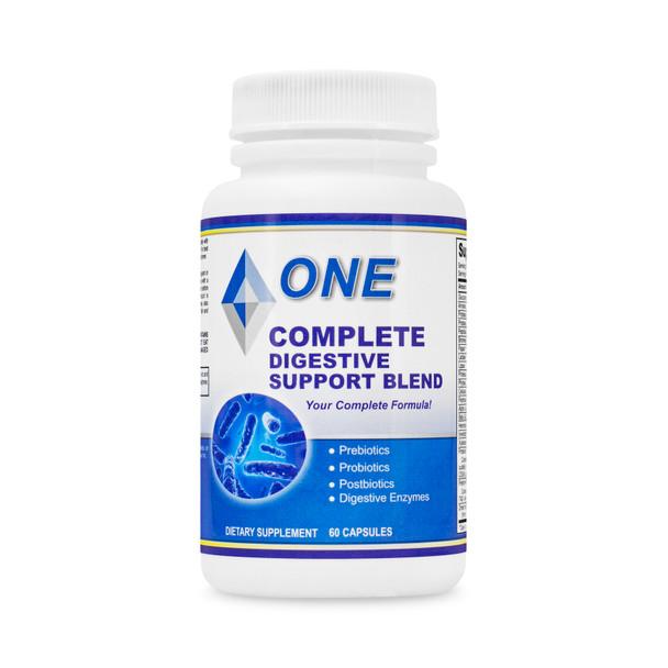 Complete Digestive Support. Pre-Biotics, Pro-Biotics and Post-Biotics